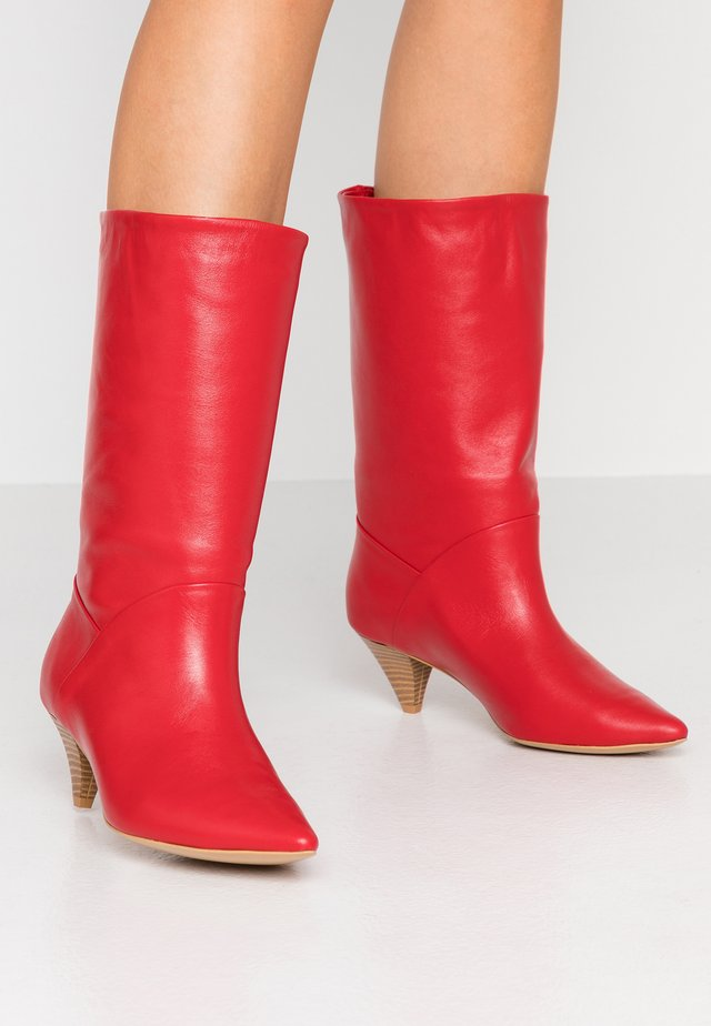 WIDE FIT OPEN MIND - Boots - red