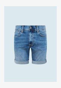 Pepe Jeans - CANE - Denim shorts - blue - 4