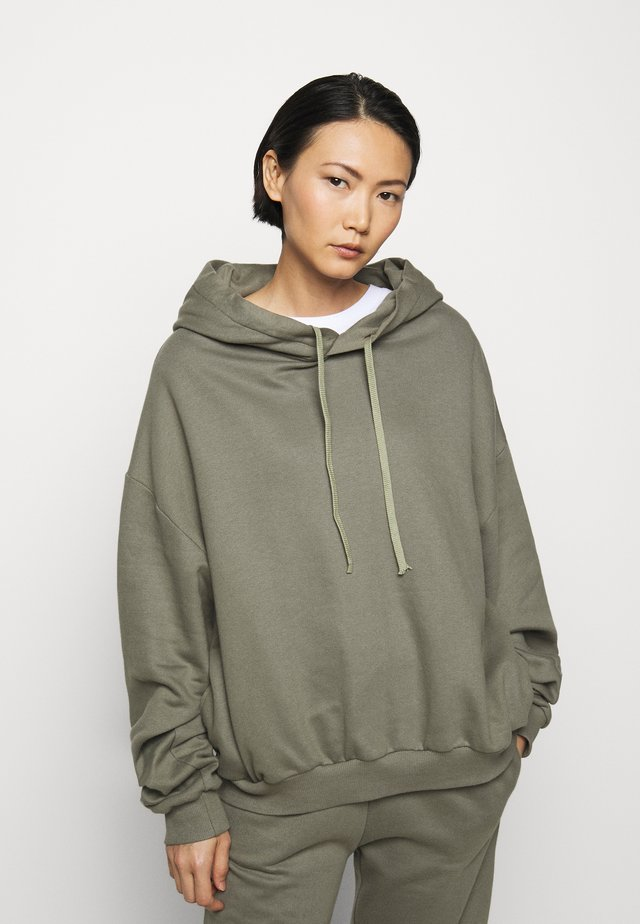 FINN COSWE - Hoodie - light dust green