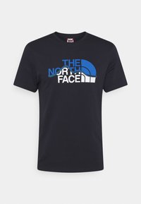 The North Face - MOUNTAIN LINE TEE - T-shirt con stampa - aviator navy - 5