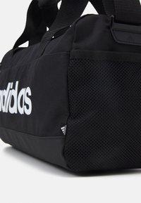 adidas Performance - LINEAR DUF XS UNISEX - Sporttas - black/white - 4