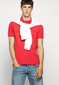 Polo Ralph Lauren - SLIM FIT MESH POLO SHIRT - Polo - evening post red - 4