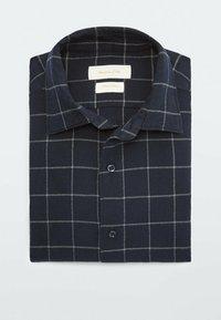 Massimo Dutti - SLIM FIT - Shirt - dark blue - 5