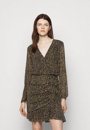 SOUTH BEACH DRAPE DRESS - Sukienka letnia - marigold