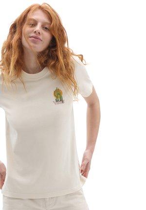 WM TRUCKSTER - Print T-shirt - sandshell