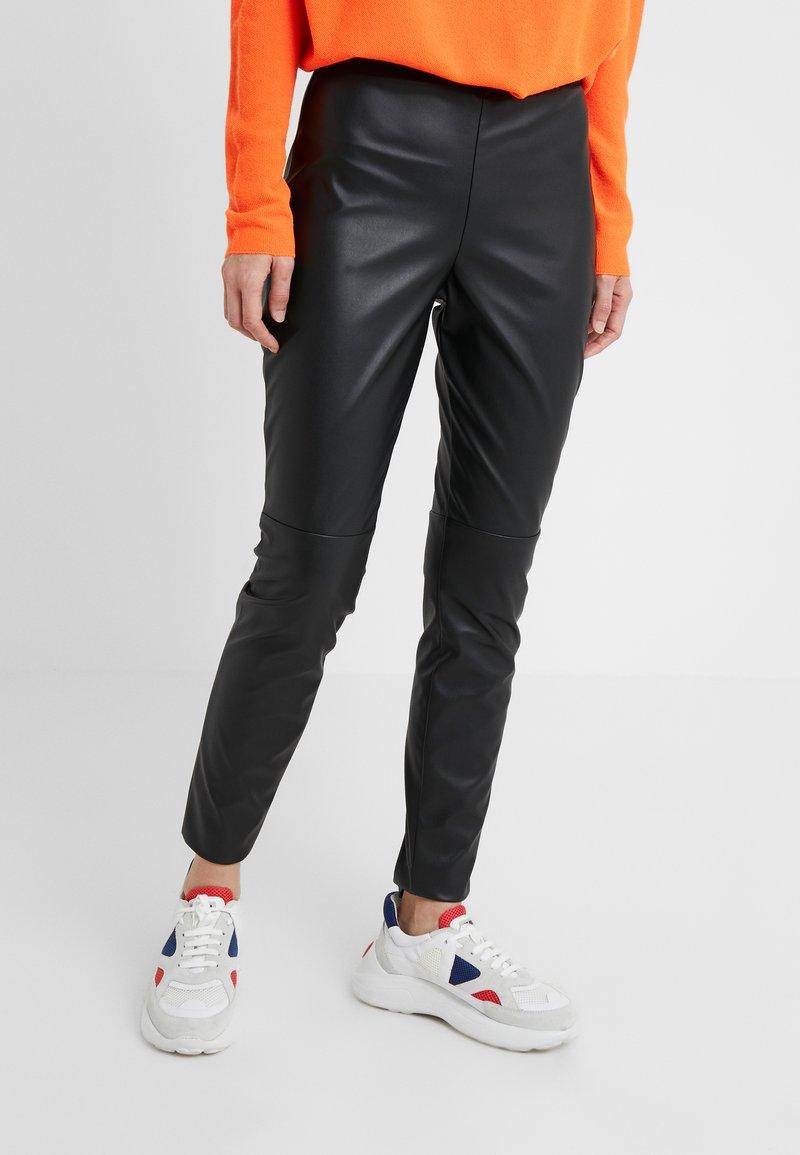 HUGO - HONATI - Leggings - black