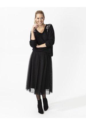 CARMINA - A-line skirt - black
