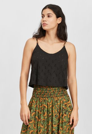 BEADED - Top - black out
