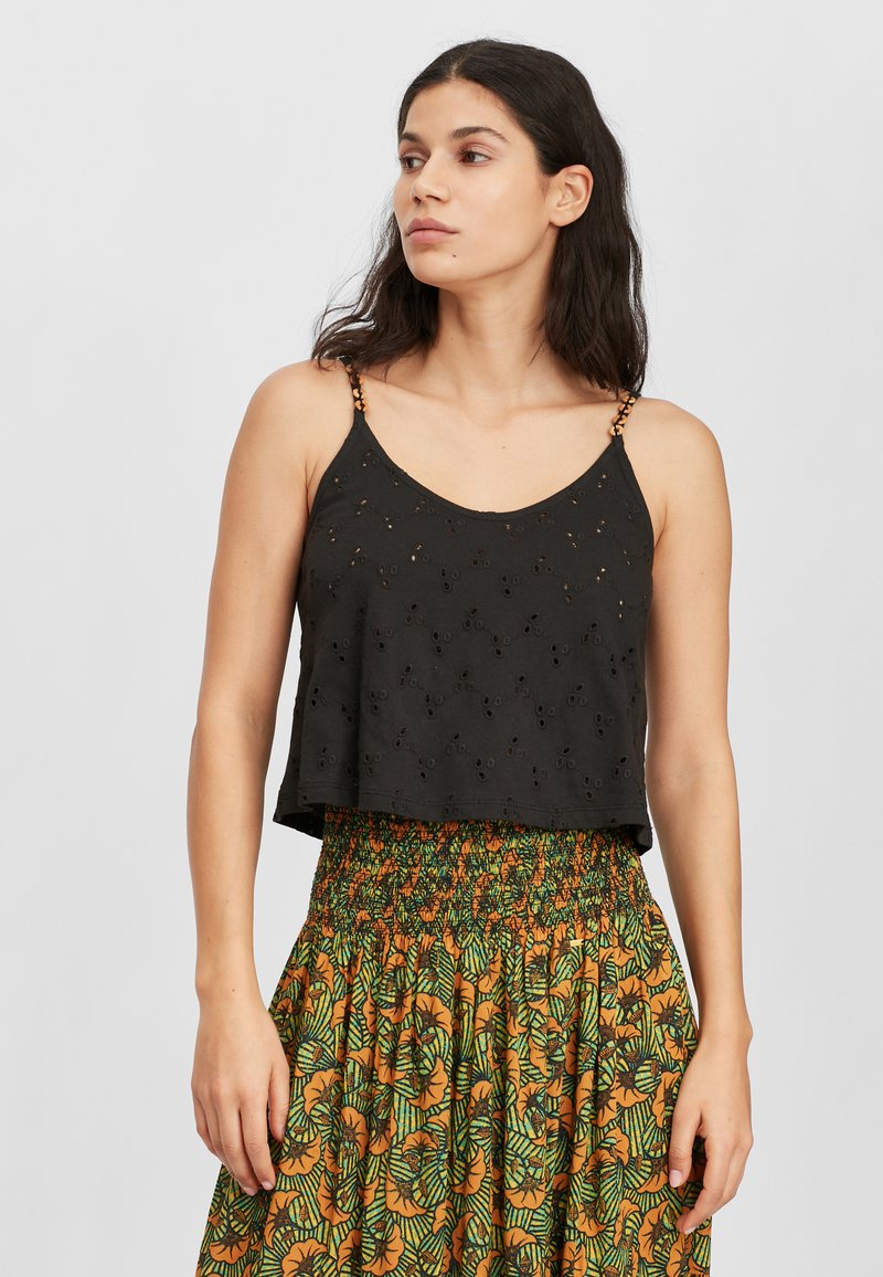 O'Neill - BEADED - Top - black out