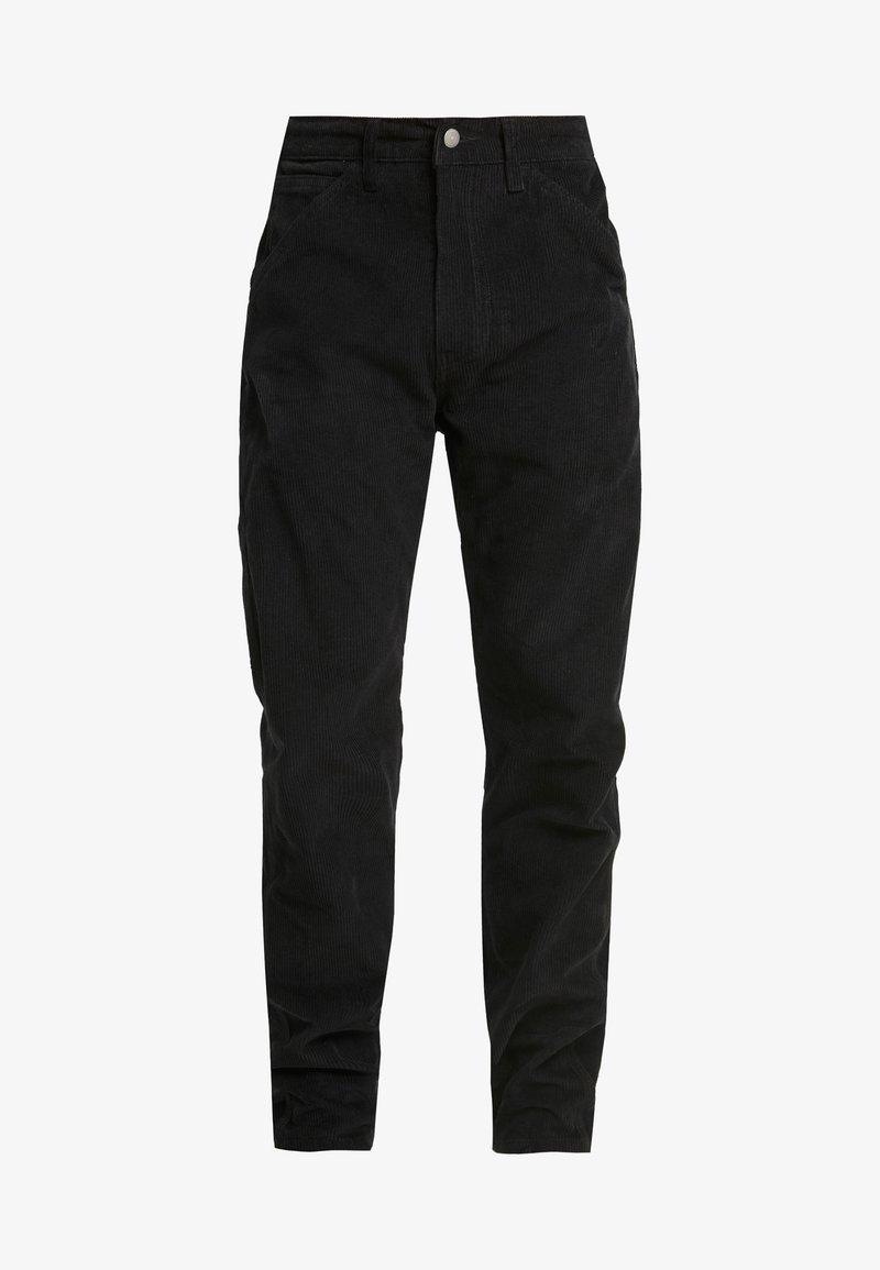 Levi S 502 Carpenter Pant Pantalones Mineral Black Negro Zalando Es