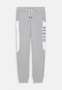 Guess - JUNIOR ACTIVE PANTS - Teplákové kalhoty - light heather grey - 0