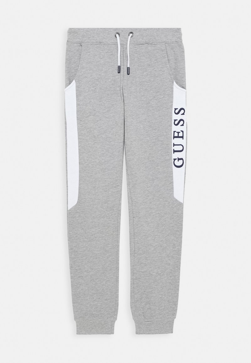 Guess - JUNIOR ACTIVE PANTS - Teplákové kalhoty - light heather grey