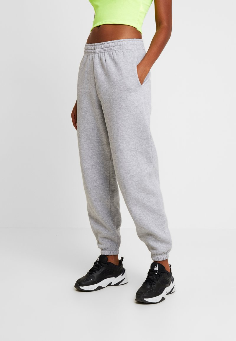 New Look - CUFFED JOGGER - Verryttelyhousut - mid grey