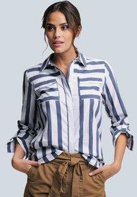 Alba Moda - Button-down blouse - weiß/blau - 0