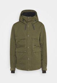 SHADOW - Snowboard jacket - olive