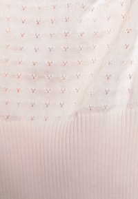 Glamorous - CARE POINTELLE CROP WITH LONG SLEEVES AND V NECK - Jumper - baby pink - 2