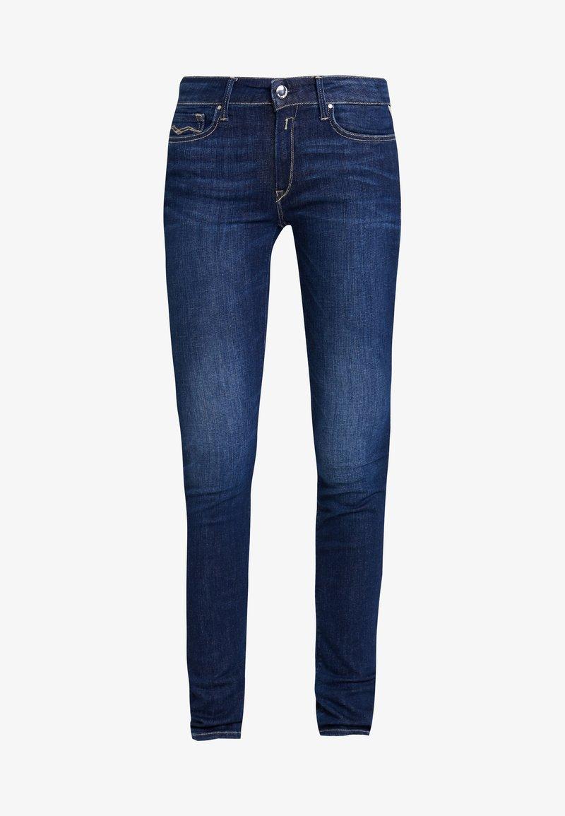 Replay LUZ - Jeans Skinny Fit - medium grey/grey denim ryFtq9