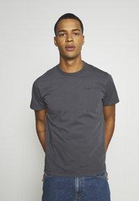 Pepe Jeans - ALBERT UNISEX - Print T-shirt - steel grey - 0