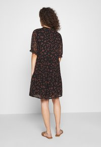 Modström - ERICA PRINT DRESS - Day dress - black - 2