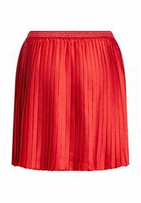 WE Fashion - Pliceret nederdel /Nederdele med folder - orange - 1