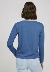TOM TAILOR DENIM - Sweatshirt - mid blue anchor structure - 2
