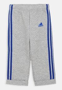 adidas Performance - FAVOURITES SET UNISEX - Tracksuit - medium grey heather/royal blue - 2