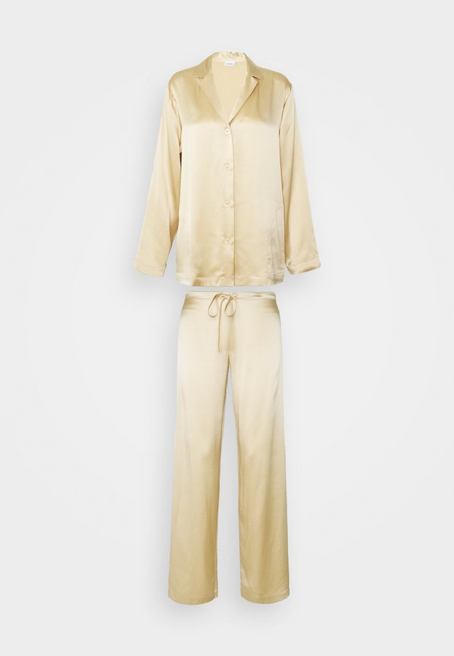 SET - Pyjamas - beige stone