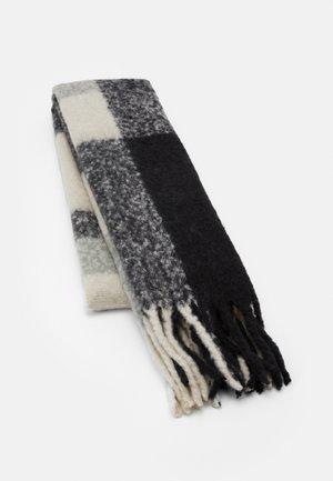 PCBEA LONG SCARF - Szal - dark grey melange