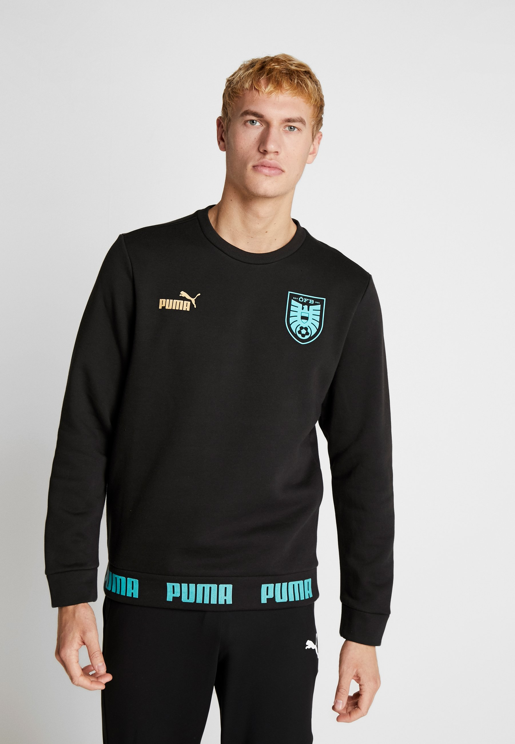 Men ÖSTERREICH ÖFB CULTURE SWEATER - Club wear