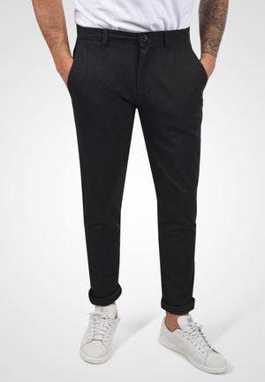 Trousers - dar grey m