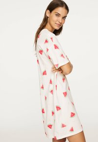 OYSHO - WATERMELON NIGHTDRESS 30274786 - Nightie - white - 2