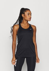 Nike Performance - TANK - Sportshirt - black - 0