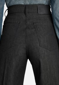 G-Star - DECK ULTRA HIGH - Flared Jeans - pitch black - 3