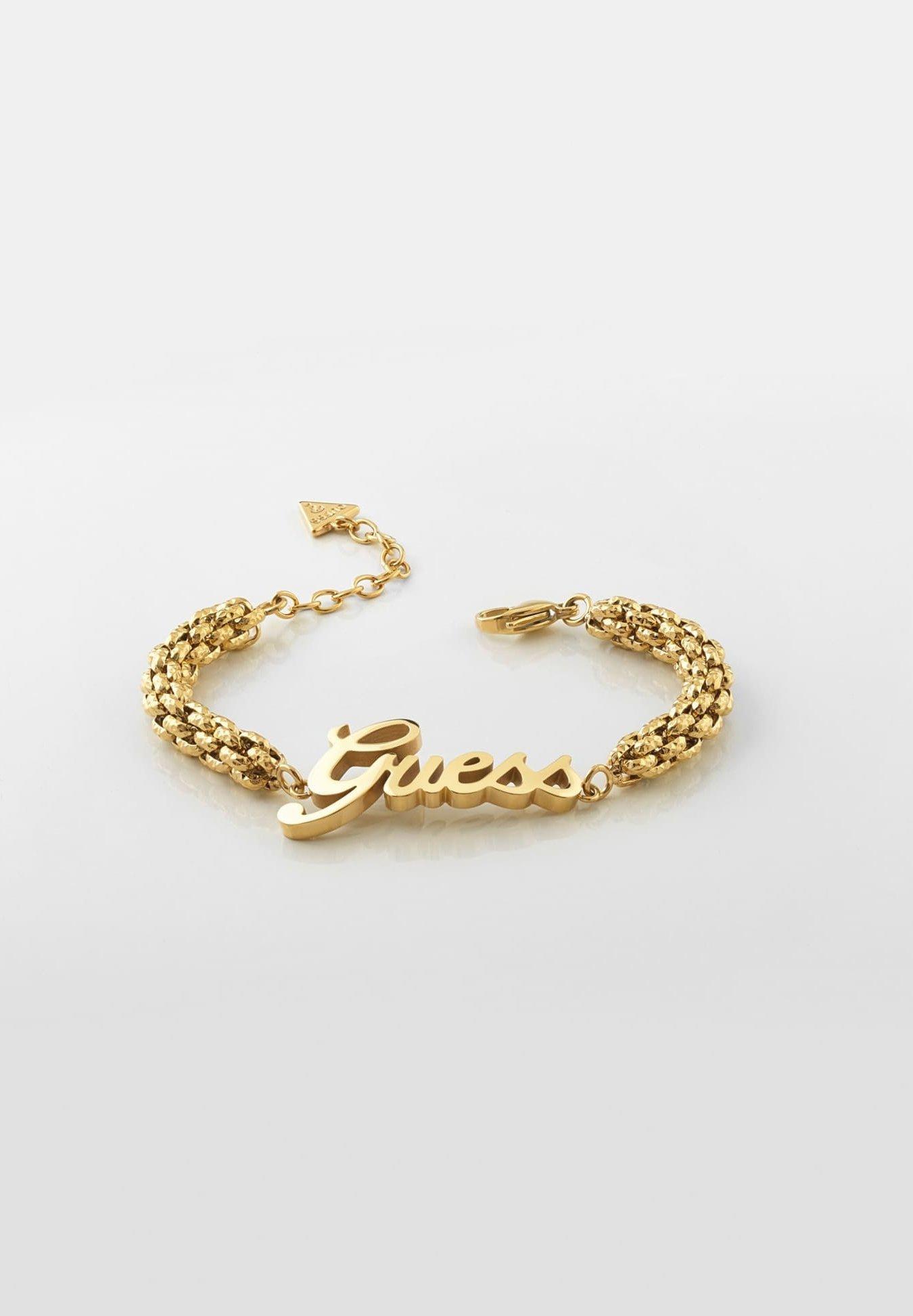 Low Price Sale Factory Sale Accessories Guess LOGO POWER Bracelet gold 4iVjEG4HD xItxODKz6