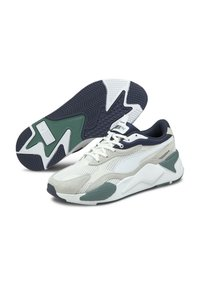 Puma - TWILL AIRMESH - Sneakers - puma white puma white - 1