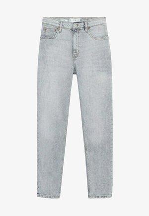 Slim fit jeans - grijs denim