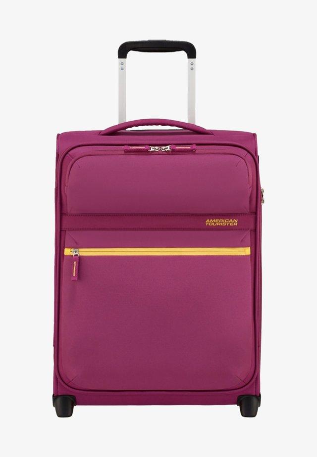 MIT 2 ROLLEN - Wheeled suitcase - deep pink