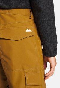 Quiksilver - PORTER - Snow pants - bronze brown - 5