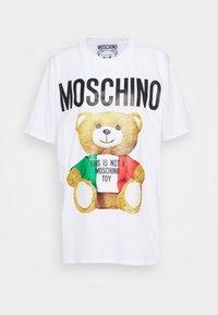 MOSCHINO - Print T-shirt - fantasy white - 0