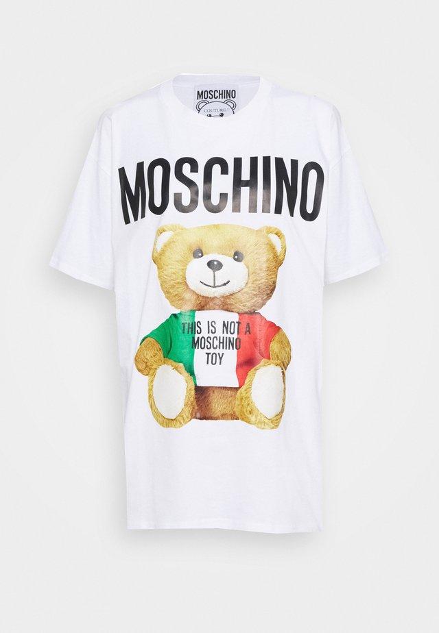 T-shirt imprimé - fantasy white