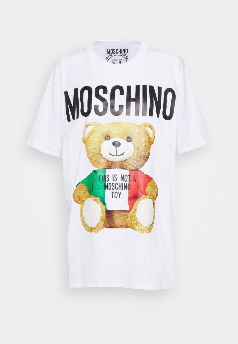 MOSCHINO - Print T-shirt - fantasy white