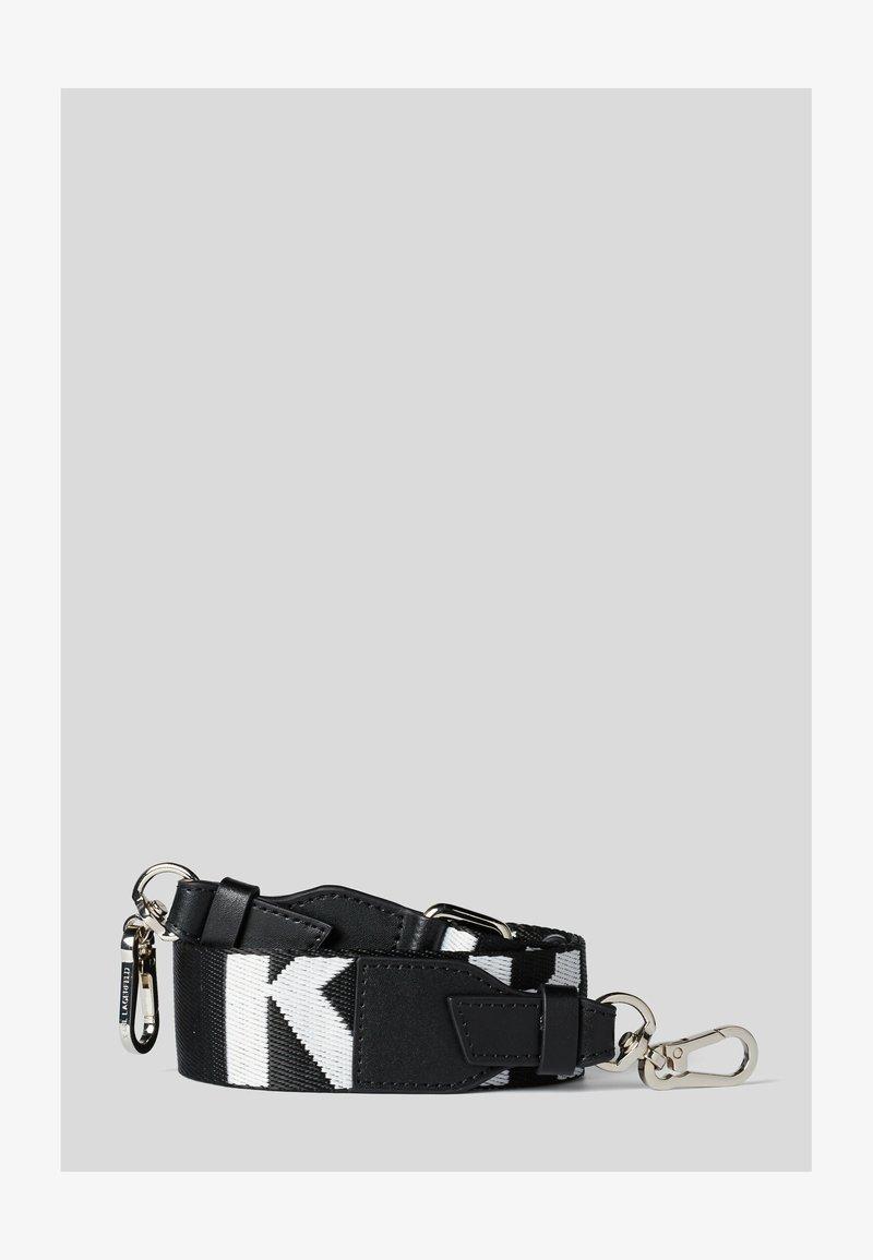 KARL LAGERFELD - Belt business - black/ white