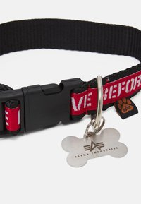 Alpha Industries - DOG TAG COLLAR UNISEX - Other accessories - black - 2