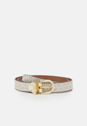 REVERSIBLE BELT - Pasek - luggage gold