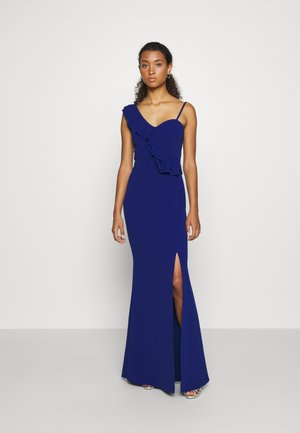 FRILL DETAIL DRESS - Ballkleid - cobalt blue