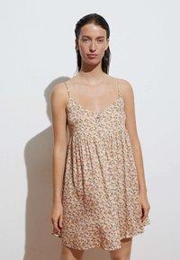 OYSHO - Day dress - beige - 0