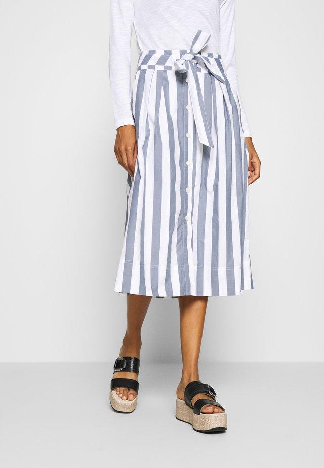 Spódnica trapezowa - blue/white