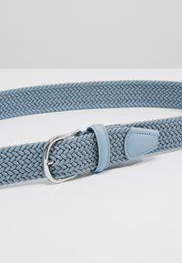 Anderson's - BELT - Braided belt - blue/grey