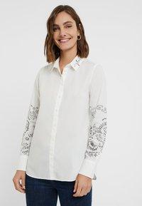 Desigual - CHIARA - Button-down blouse - white - 0