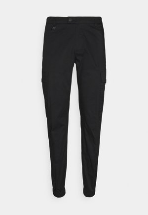 TROUSERS NIKKI SKINNY FIT IN STRETCH - Cargobroek - nero